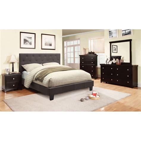 Furniture Of America Thompson Bedroom Furniture Of America Warscher 4 Upholstered