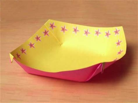 Paper Bowl Origami - joost langeveld origami page