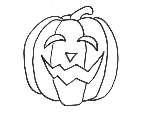 jack o lantern coloring pages for preschool coloringstar