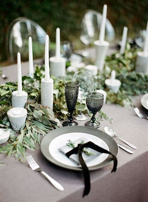 wedding tablescapes top 20 tablescape ideas for winter wedding wedding grey