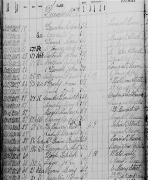 Limerick Deaths Records 70 000 Limerick Cemetery Burial Records Go