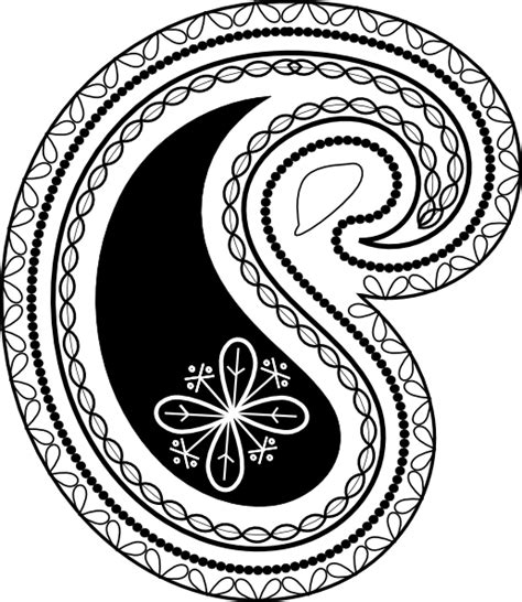 Paisley Pattern Png | paisley pattern clip art at clker com vector clip art