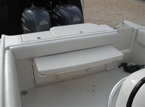 boat bench seat hydra sports 28 cc rear bench seat the hull truth