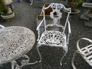 Metal Garden Table And 2 Chairs by Antiques Atlas Metal Garden Table And 2 Chairs