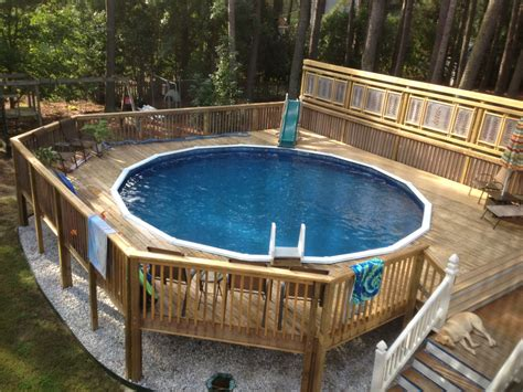 Pool Deck Plans by This Is A Customer Photo Of A Barbados 52 Quot 24 Pool
