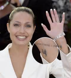 10 famous celebrity wrist tattoos