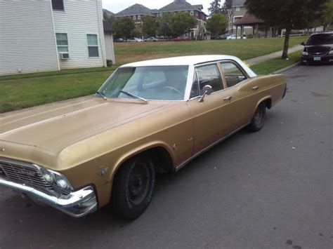 1965 chevy impala 4 door sedan