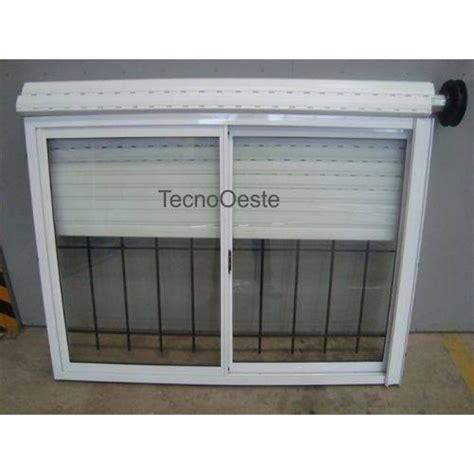 el supermercado con ventanas ventana aluminio blanco 150x110 vidrio guia cortina y reja