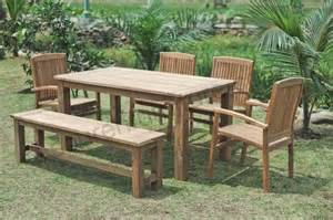 meubles de jardin en teck pour la p 233 rennit 233 de votre
