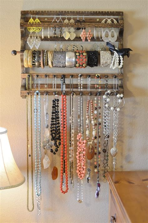diy jewelry storage wooden jewelry organizer pictures photos and images for