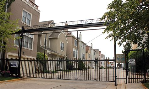 architecturechicago plus two gated communities will the lathrop homes be drowned in a river of