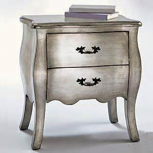 Silver Leaf Furniture by Silver Leaf Bombe Chest Storage