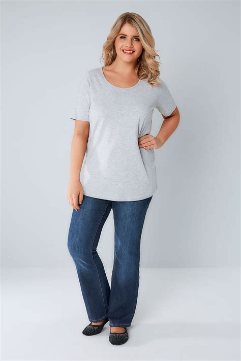 div placement indigo bootcut shaper isla with button plus