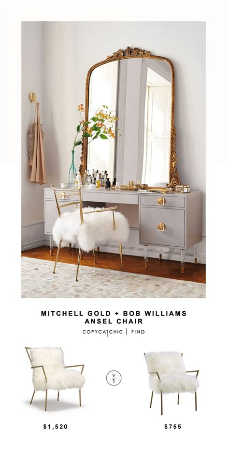 copycat chic desk chair mitchell gold bob williams ansel chair copy cat chic