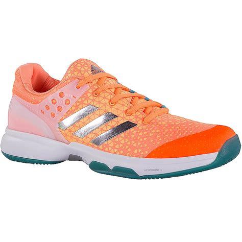 adidas womens tennis shoes adidas adizero ubersonic 2 s tennis shoe orange green