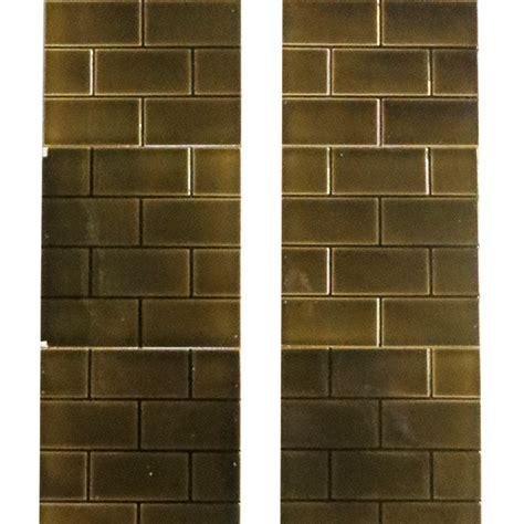 buy antique brown glazed brick fireplace tiles