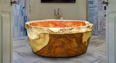 solid wood bathtub three ton solid wood bathtub wood innovations discovered by grothouse