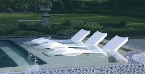 in pool lounge chairs ledge lounger how cool is this a lounge chair designed to be used on a shallow tanning ledge