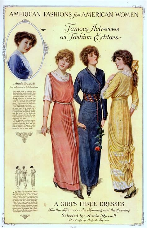 Home Decor Magazines Online vintage fashion from 1913