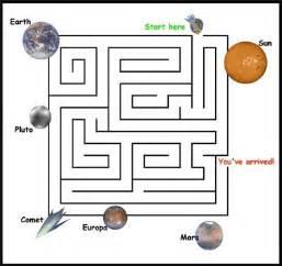 Guide your spacecraft through a space maze nasa space place