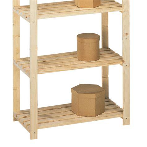 scaffale libreria legno scaffale libreria country con ripiani in legno massello di