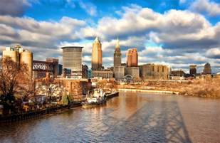 Sherwin Williams Cityscape cleveland city skyline cleveland in hdr the 6th city