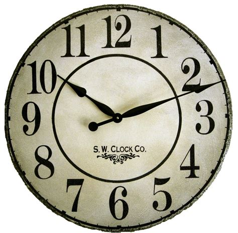 country clock 36 inch gallery country wall clock antique by klocktime