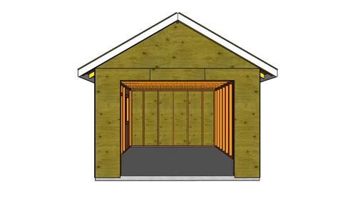 Build A Garage Plans | how to build a detached garage howtospecialist how to build step by step diy plans