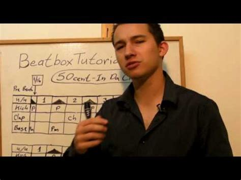 beatbox tutorial isato learn how to beatbox 50 cent song in da club beatbox