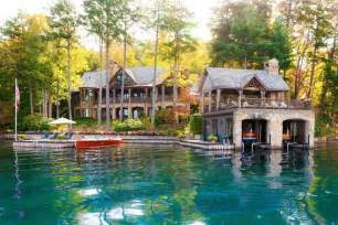 Lake Front House Lake Front Homes Brucall