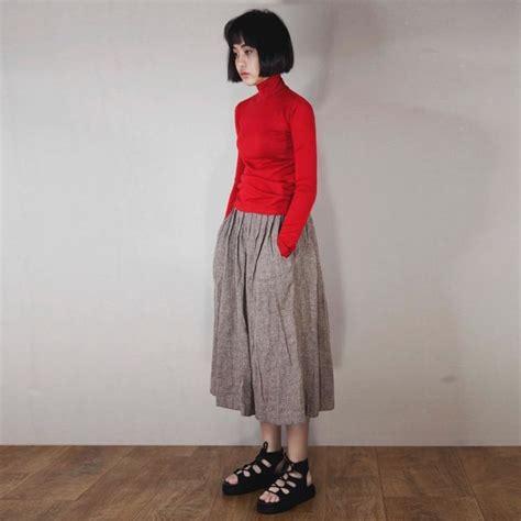 Rok Prisket 10 17 gaya pakaian korea simpel yang terlihat awet muda dijamin kamu pengen coba