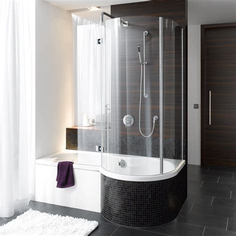 Baths With Shower Shower Baths 10 Of The Best Housetohome Co Uk