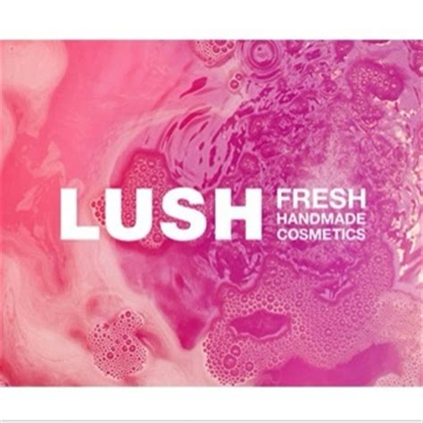 Handmade Cosmetics Business - lush gift card
