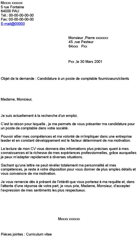 Lettre De Motivation Facteur pdf lettre de motivation facteur