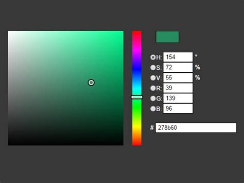 hsv color picker handy css3 animated color picker plugin for jquery