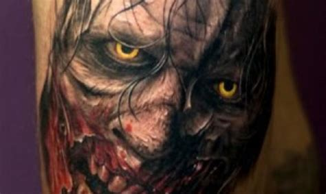 10 terrifying horror tattoos tattoo com