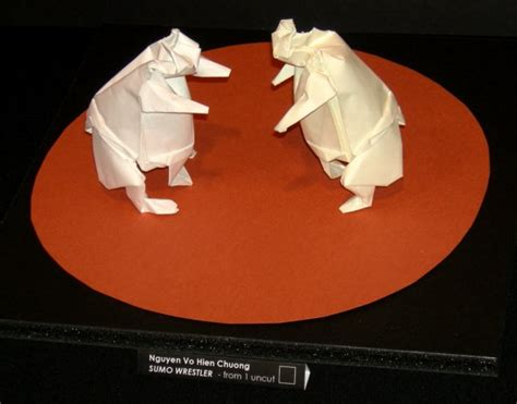 How To Make A Paper Sumo Wrestler - sumo wrestler