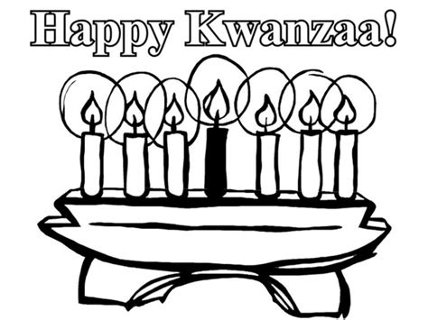 free coloring pages of kwanzaa symbols
