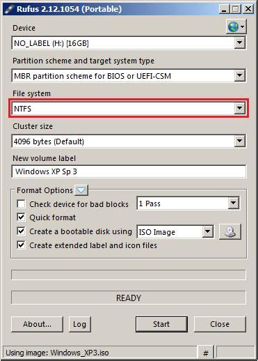 membuat bootable usb ntfs cara membuat bootable sistem operasi pada flashdisk