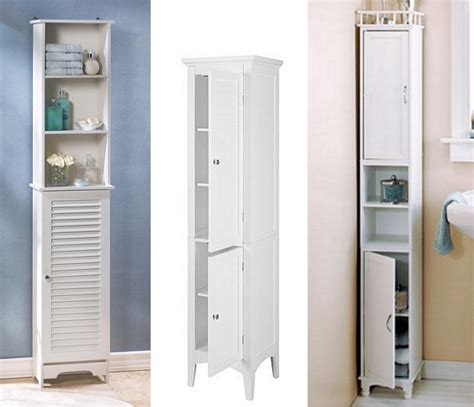 interior top narrow cabinet for bathroom with