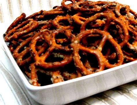 pretzel recipe soft seasoned pretzels recipe dishmaps