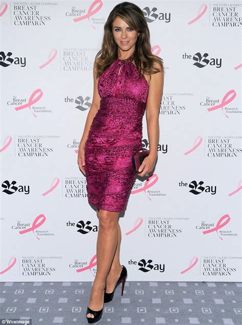 Which Elizabeth Hurley Breast Cancer Pink Frock Is Most Fab by Elizabeth Hurley Continues To Use Wardrobe To Raise