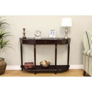 cherry sofa table with storage frenchi home furnishing dark cherry storage console table