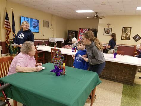 st joseph visits nursing home st joseph catholic