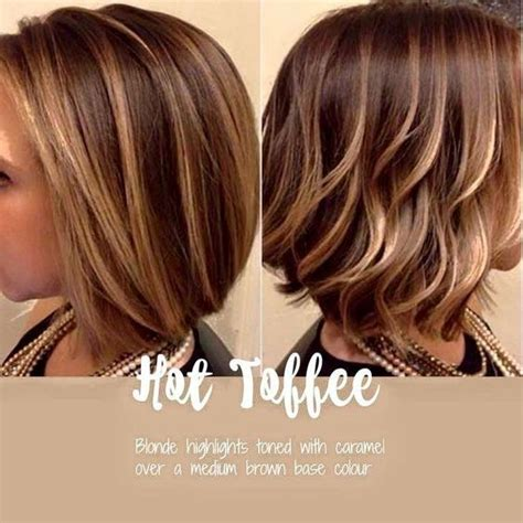 toffee colour pictures hot toffee blonde and caramel highlights over brown base