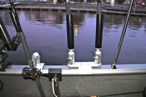 lund boats rod holders double aluminum rod holder on sport lund mount cisco