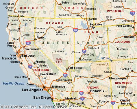 maps of west coast usa knowcrazy 09 22 13