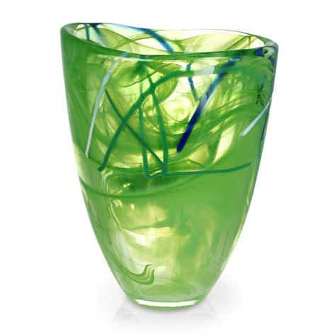 Kosta Boda Contrast Vase by Kosta Boda Contrast Vase Lime