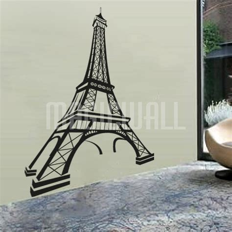 wall stickers eiffel tower wall decals eiffel tower wall stickers