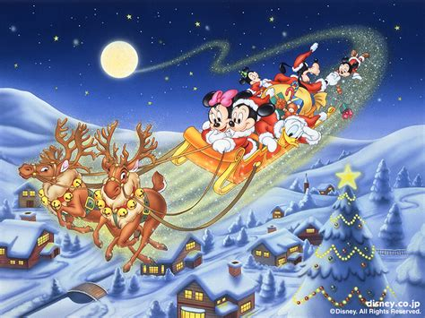merry christmas background disney wallpaper